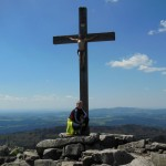Gipfelkreuz Lusen